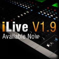 Новая версия программного обеспечения Allen & Heath iLive 1.9